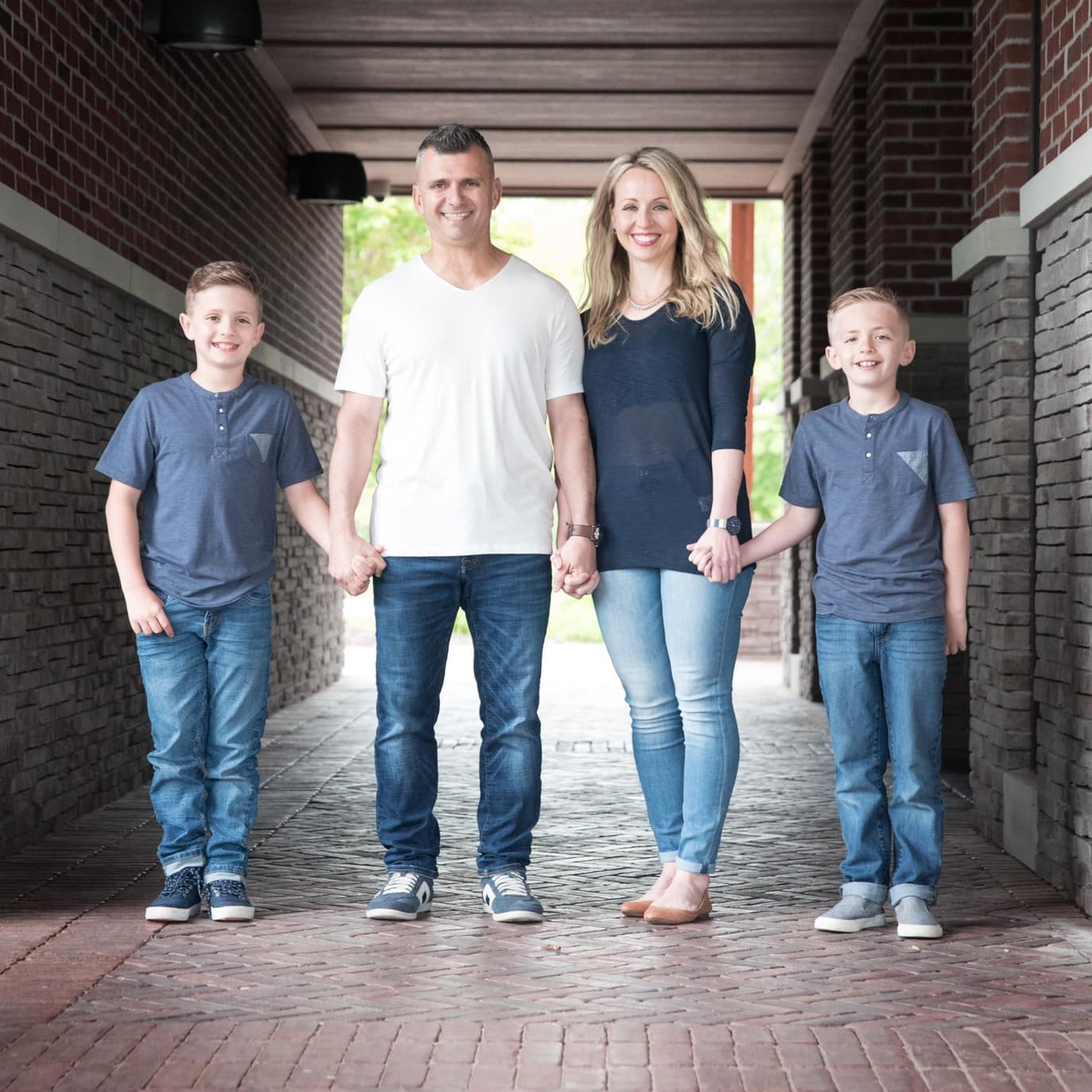 Photo of Dan Azar and Family by Amy Fuerth Photography